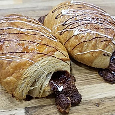Chocolate Croissant, whole wheat