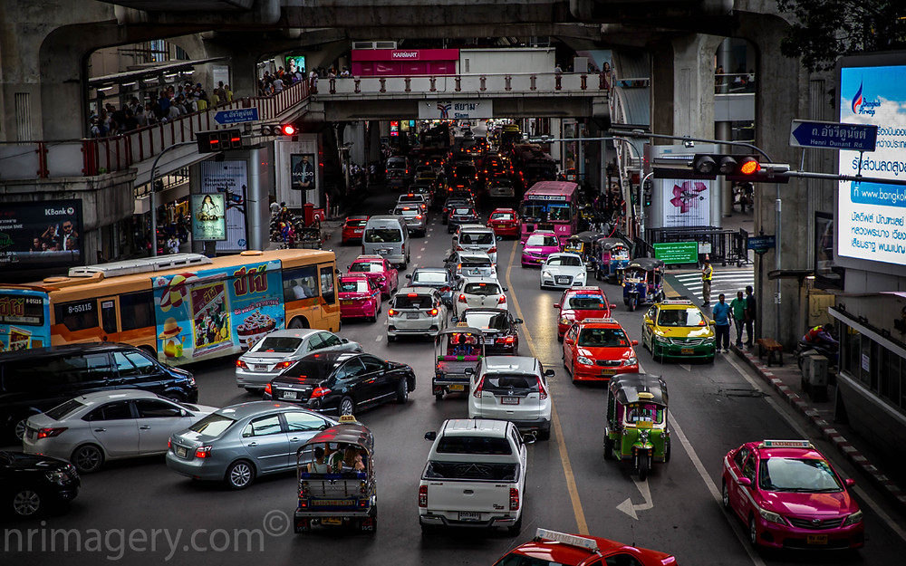 Bustling Bangkok - Photographed with Canon 6D with Tamron