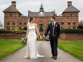 Soughton Hall Winter Wedding - Aimee & Richard