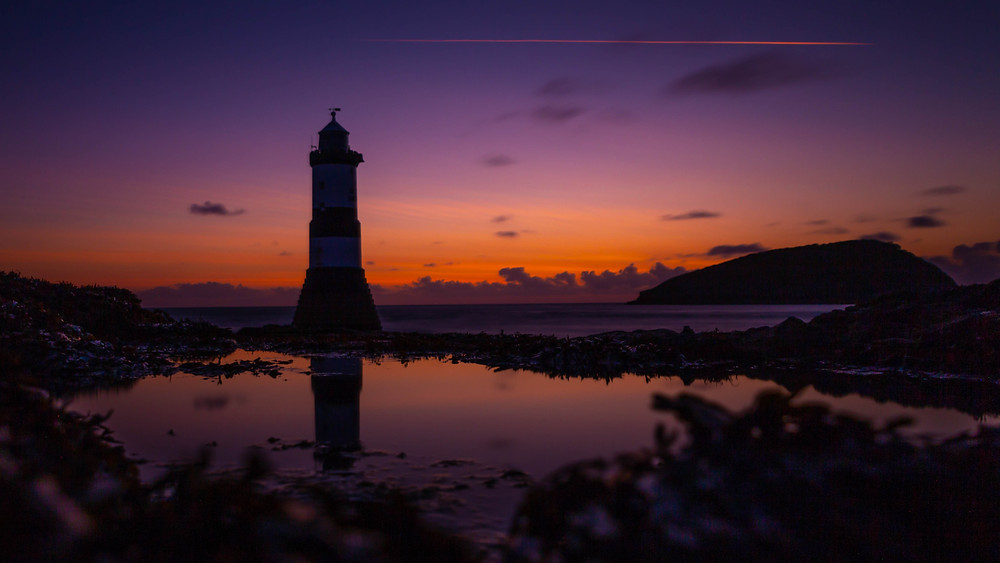 North Wales based Travel Photographer - Penmon Lighthouse, Anglesey