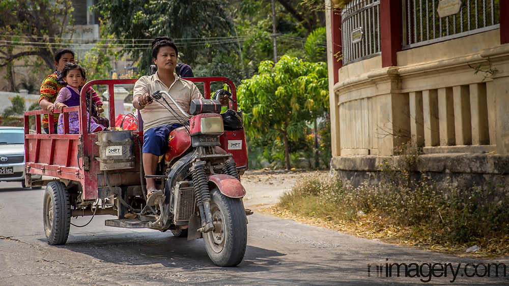 Traditional modes of transport - a motorbike/tractor (???) Photographed with Canon EOS 6D with Tamron SP 24-70mm f/2.8 - ISO-800, f/6.3, 1/2000
