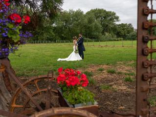 Marquee Wedding, Waen - Elen & Alex