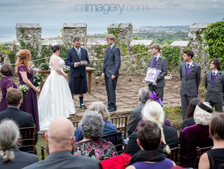 A Fairy-tale Wedding at Gwrych Castle, Abergele - Abby & Rob