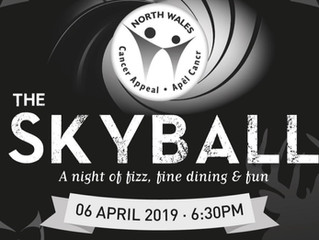 North Wales Cancer Appeal Charity Ball & Auction 2019 - 'SkyBall'