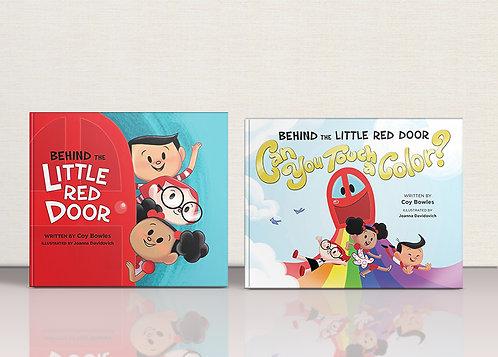 Behind the Little Red Door Book Bundle