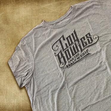 Heathered Grey Logo Shirt