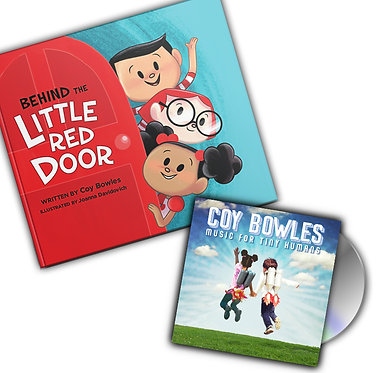 Music for Tiny Humans (signed) & Behind the Little Red Door (signed) Bundle