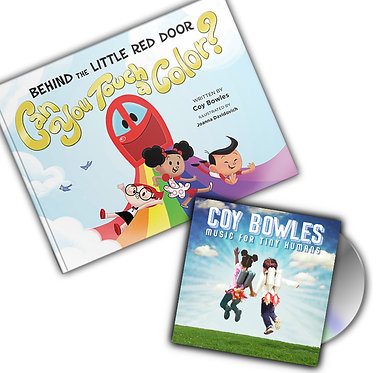 Behind the Little Red Door: Can You Touch A Color & Music for Tiny Humans CD