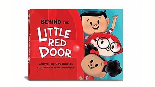 Behind The Little Red Door Ebook