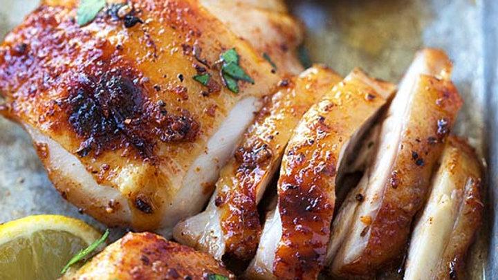 Kajun Grilled Chicken w/ side