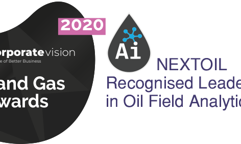 NEXTOIL was awarded Recognised Leaders in Oil Field Analytics 2020