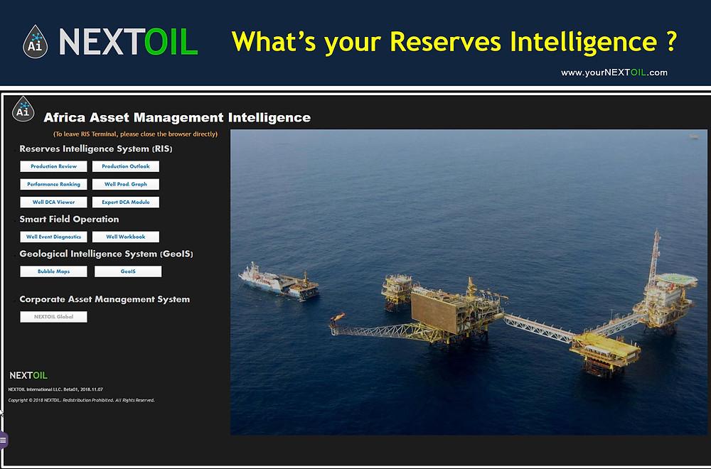 Nextoil RIS - Reserves Intelligence System
