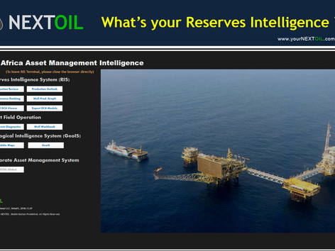 NEXTOIL Milestone: Asset and Reserves Management System