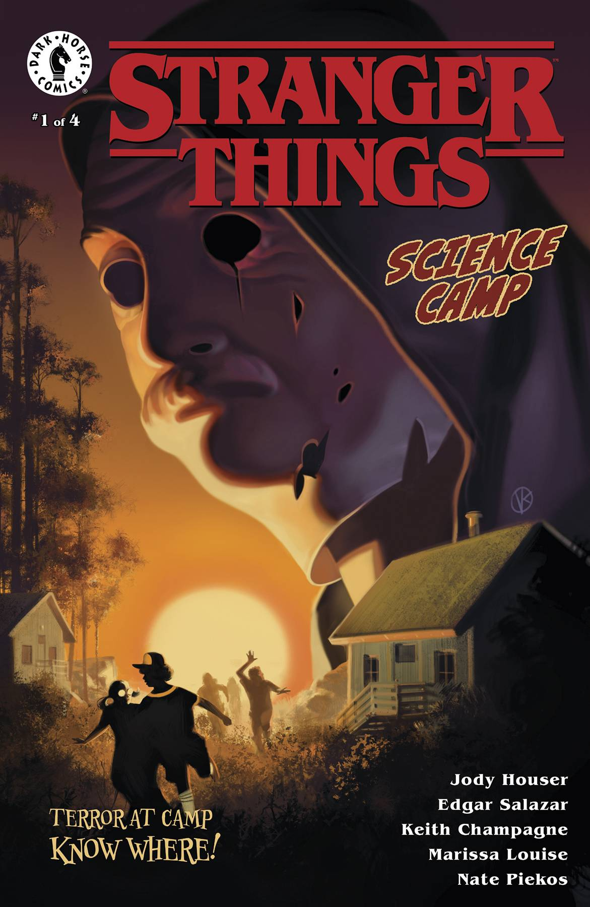 STRANGER THINGS: SCIENCE CAMP #1 (OF 4)