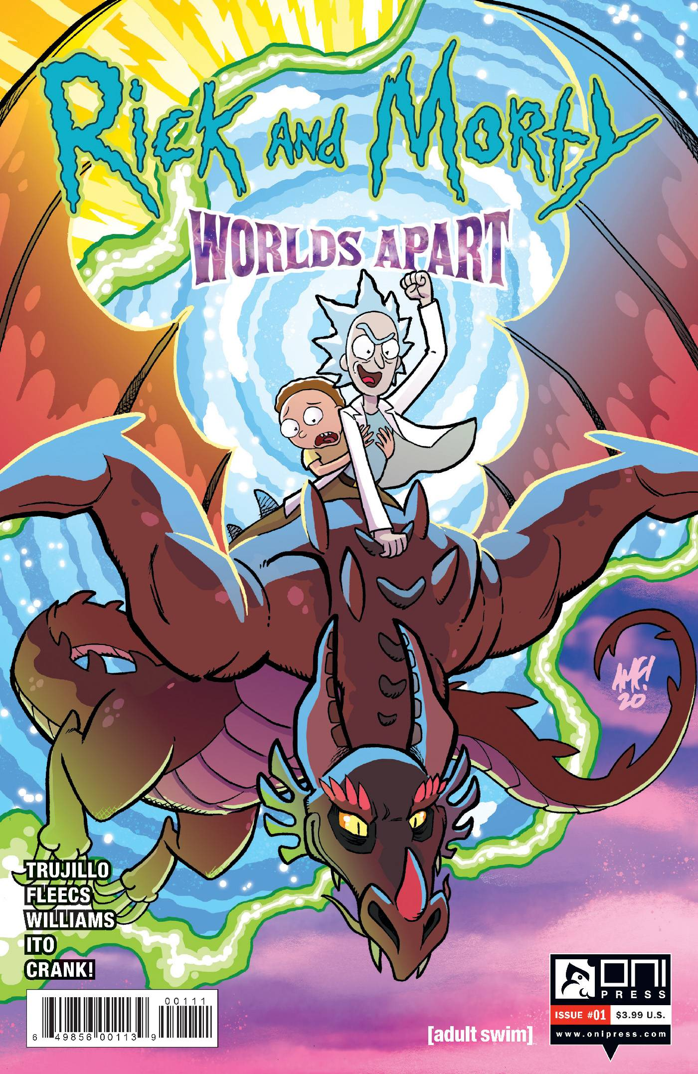 RICK AND MORTY WORLDS APART #1