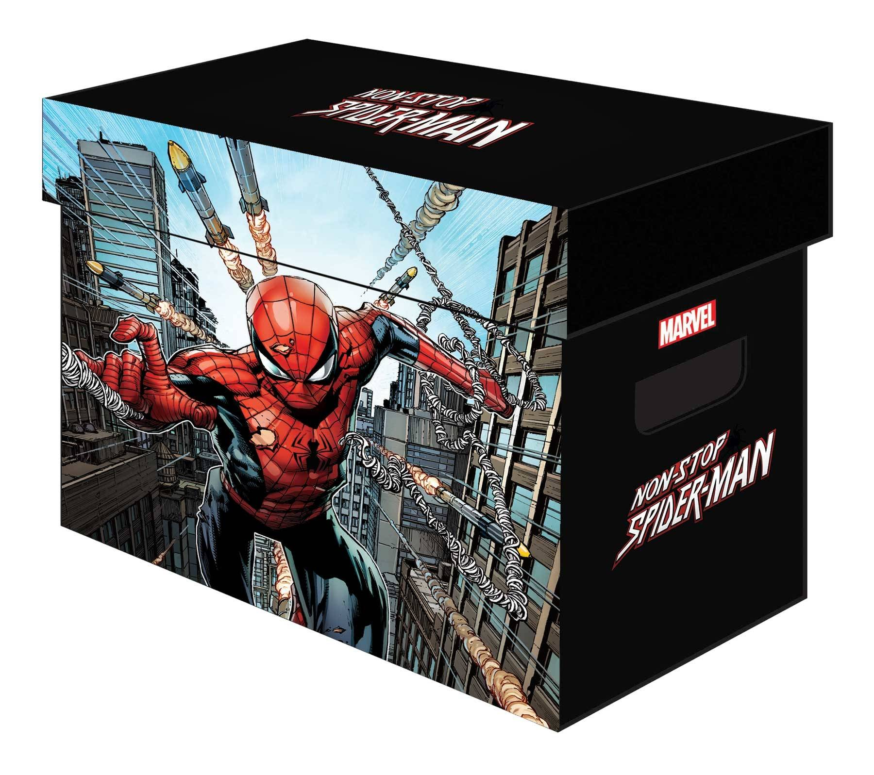 MARVEL GRAPHIC COMIC BOXES NON-STOP SPIDER-MAN
