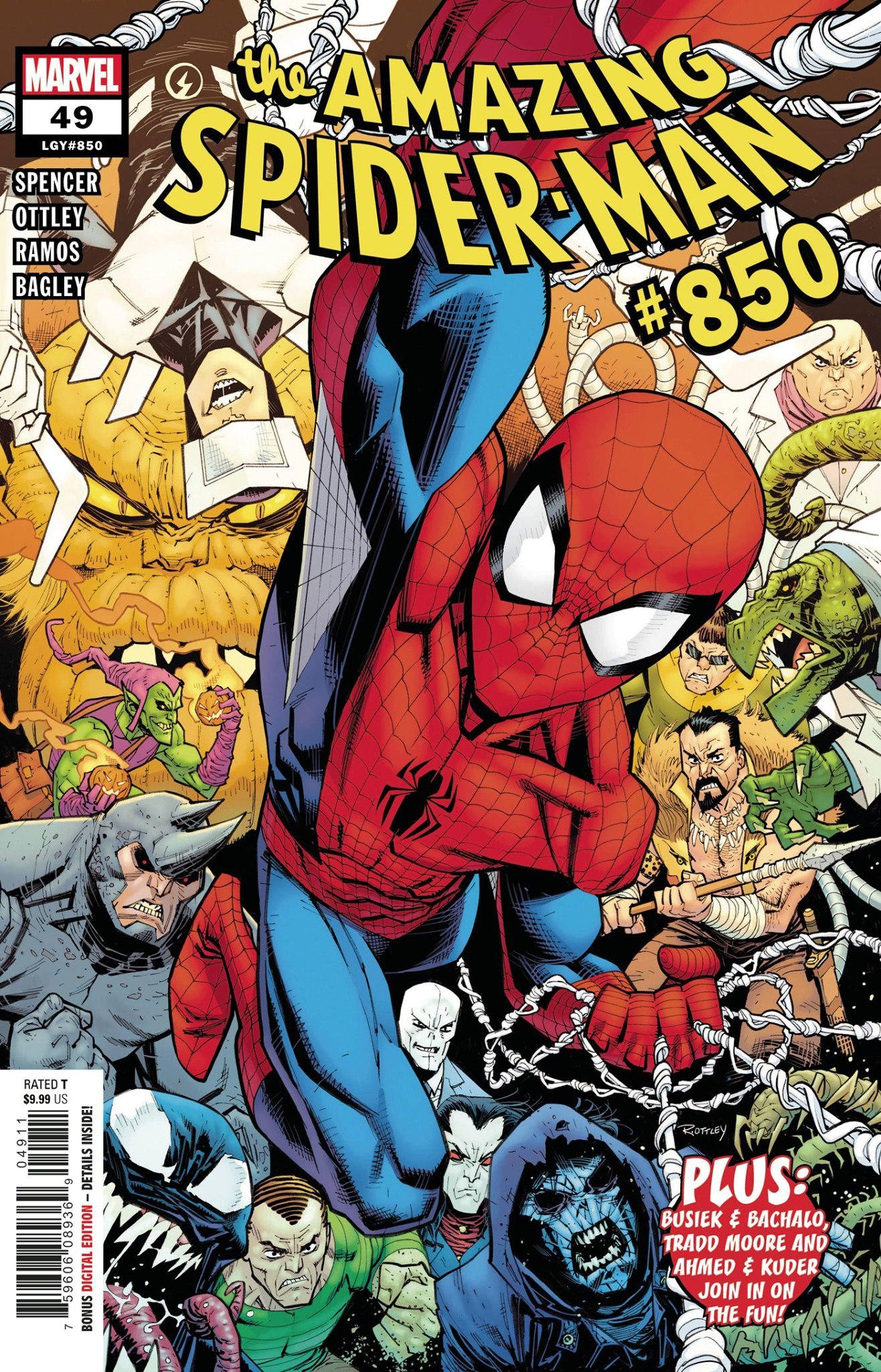 Amazing Spider-Man #49 (#850)
