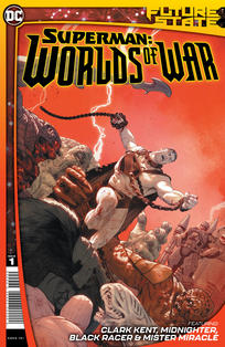FUTURE STATE SUPERMAN WORLDS AT WAR #1 CVR A