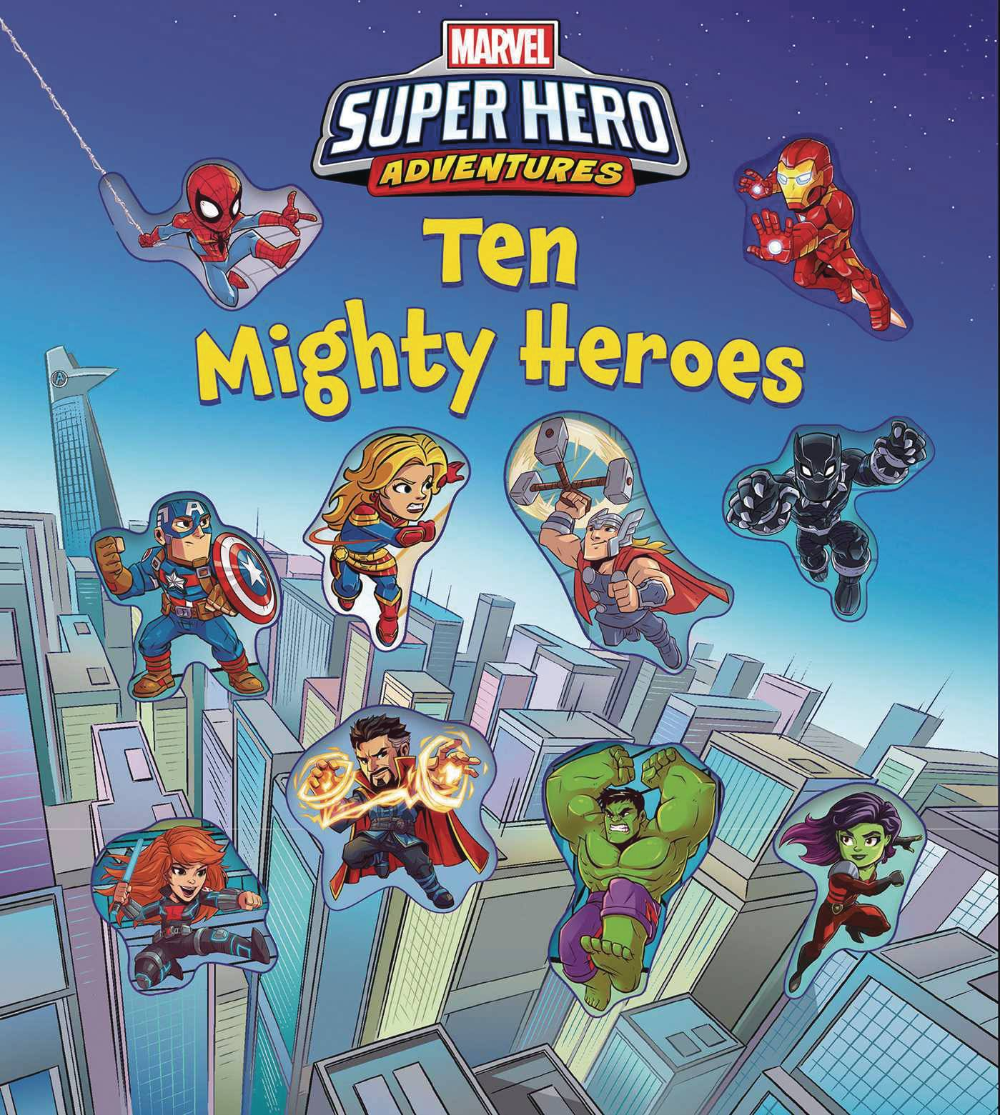 MARVEL SUPER HERO ADVENTURES TEN MIGHTY HEROES