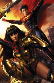 FUTURE STATE SUPERMAN WONDER WOMAN #1 CVR B
