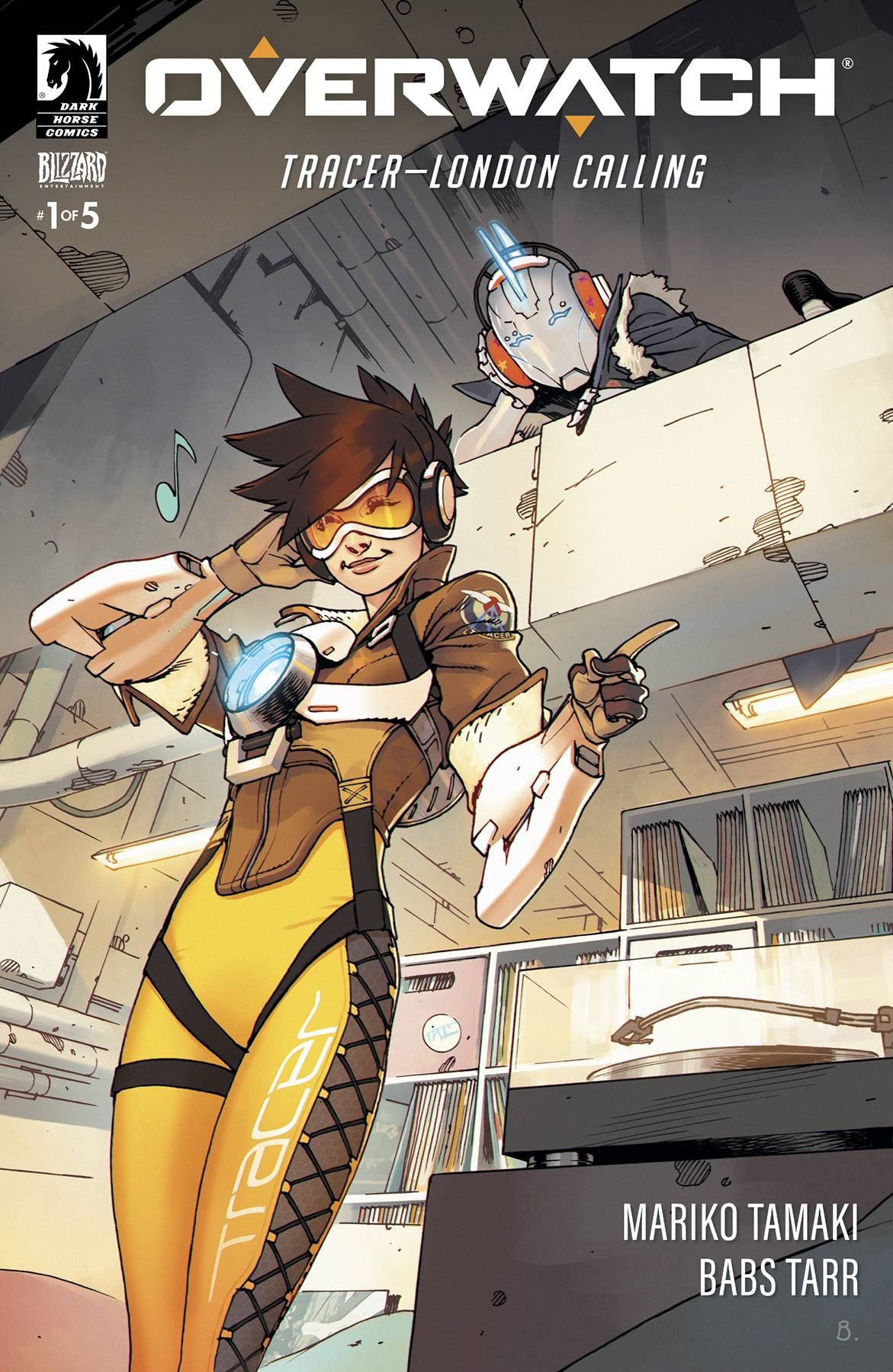 OVERWATCH TRACER-LONDON CALLING #1 (OF 5)