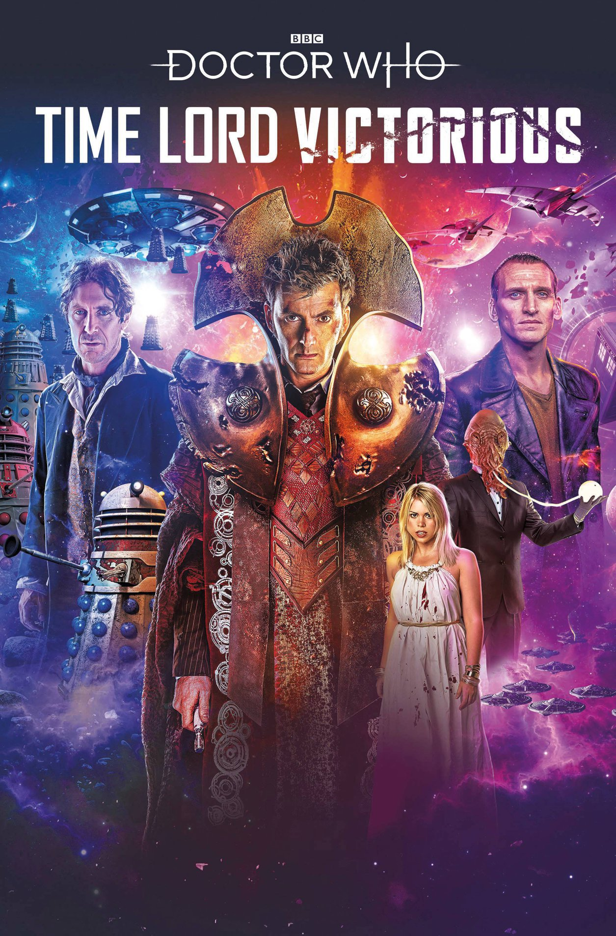 DOCTOR WHO TIME LORD VICTORIOUS TP