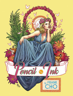 FRANK CHO PENCIL AND INK HC