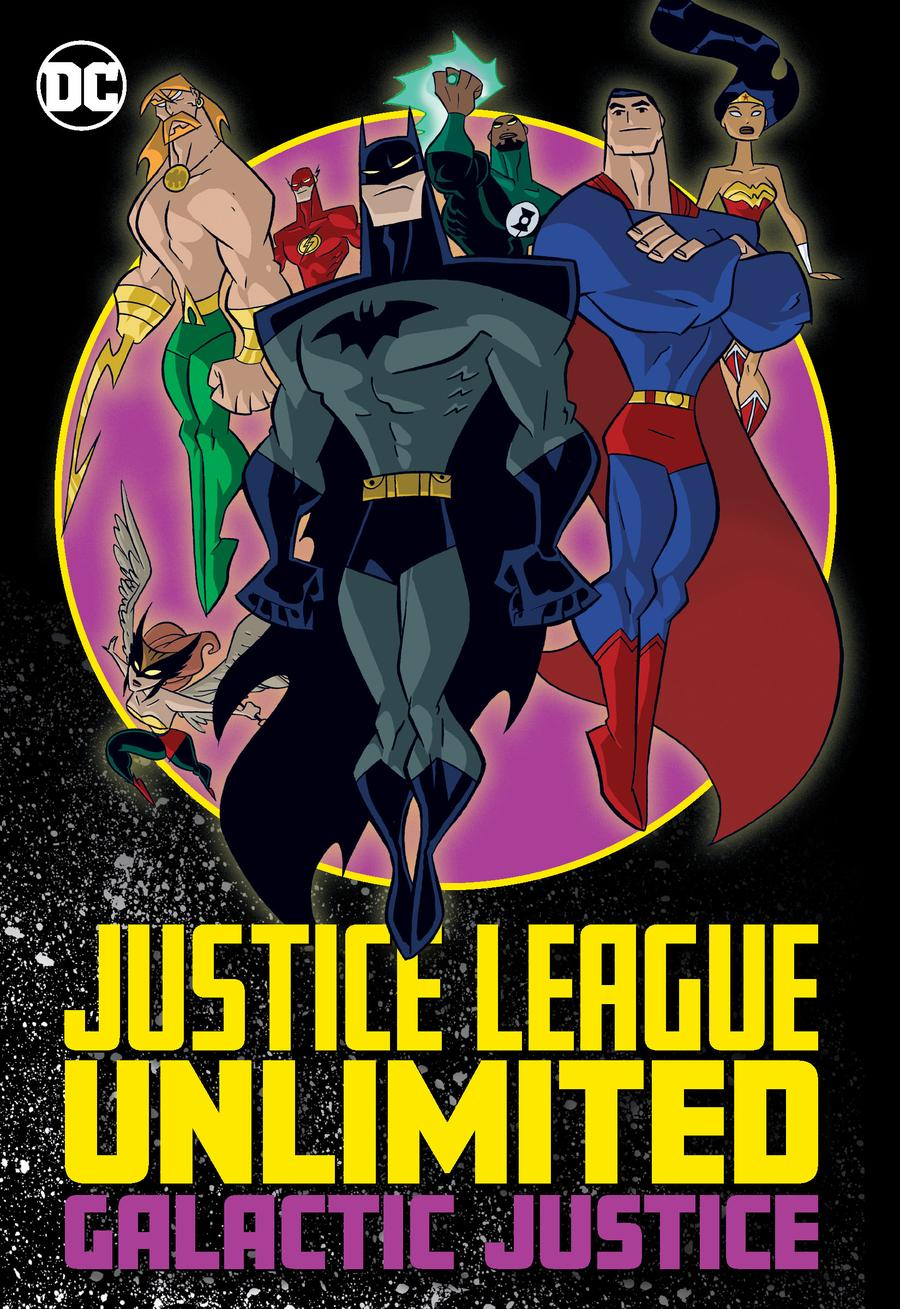 JUSTICE LEAGUE UNLIMITED: GALACTIC JUSTICE TP