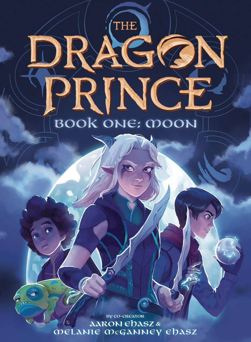 THE DRAGON PRINCE GN BOOK ONE: MOON