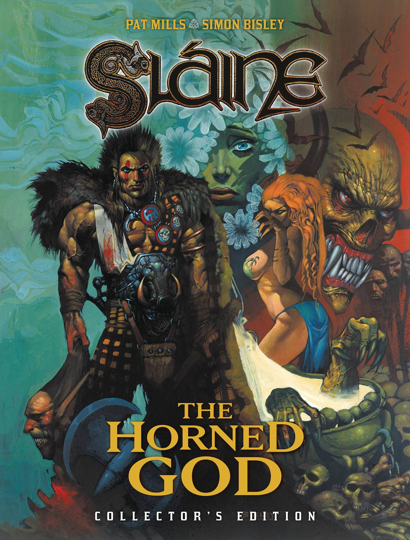 SLAINE: THE HORNED GOD COLLECTORS EDITION TP