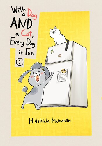 WITH DOG AND CAT EVERYDAY IS FUN GN VOL 01