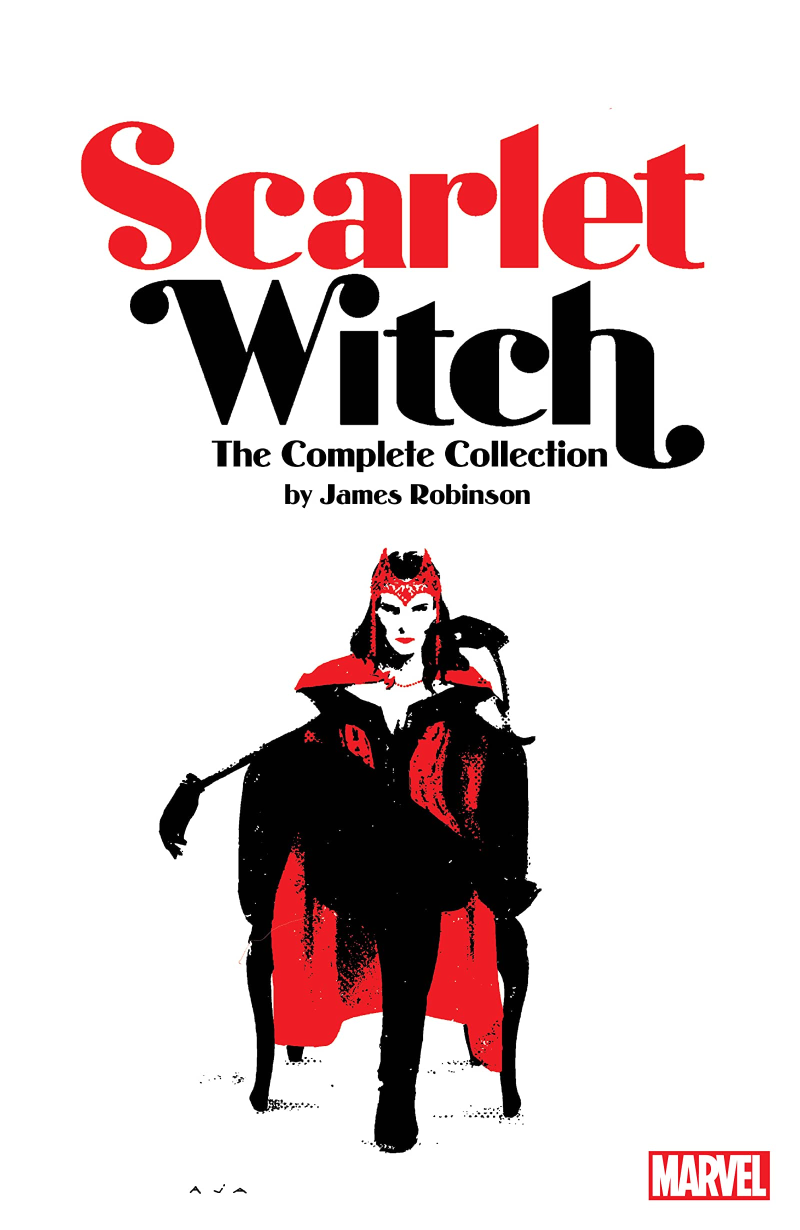 SCARLET WITCH BY JAMES ROBINSON COMPLETE COLLECTION TP
