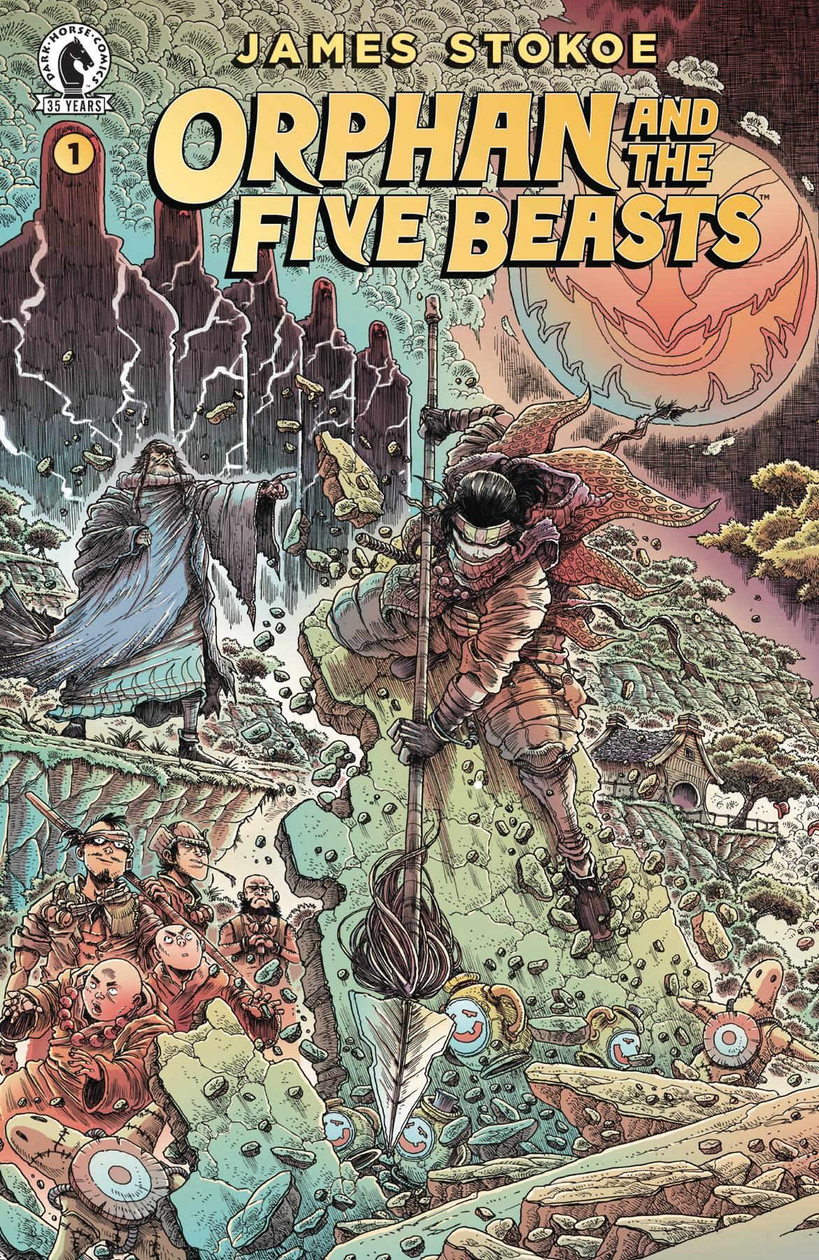 ORPHAN & FIVE BEASTS #1 (OF 4)