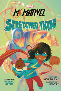 MS MARVEL STRETCHED THIN GN