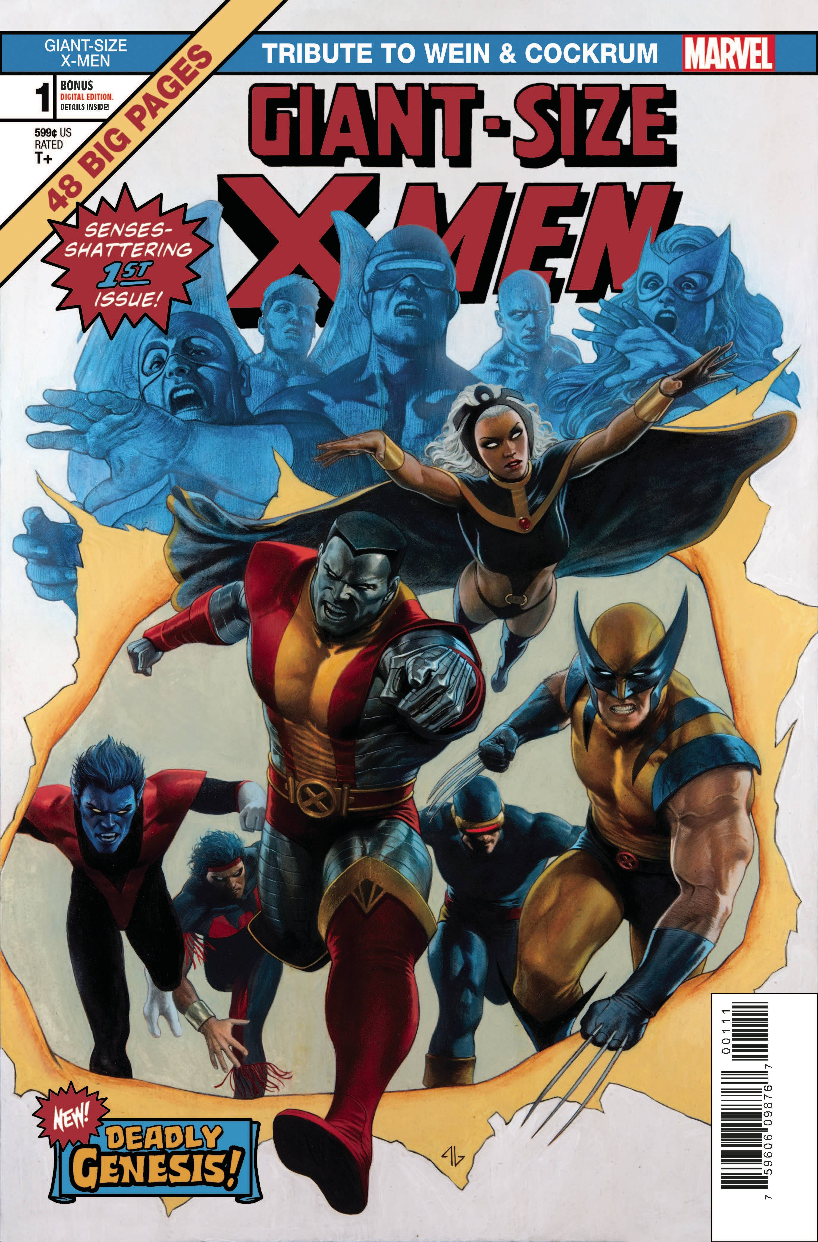 GIANT SIZE X-MEN: TRIBUTE TO WEIN & COCKRUM #1