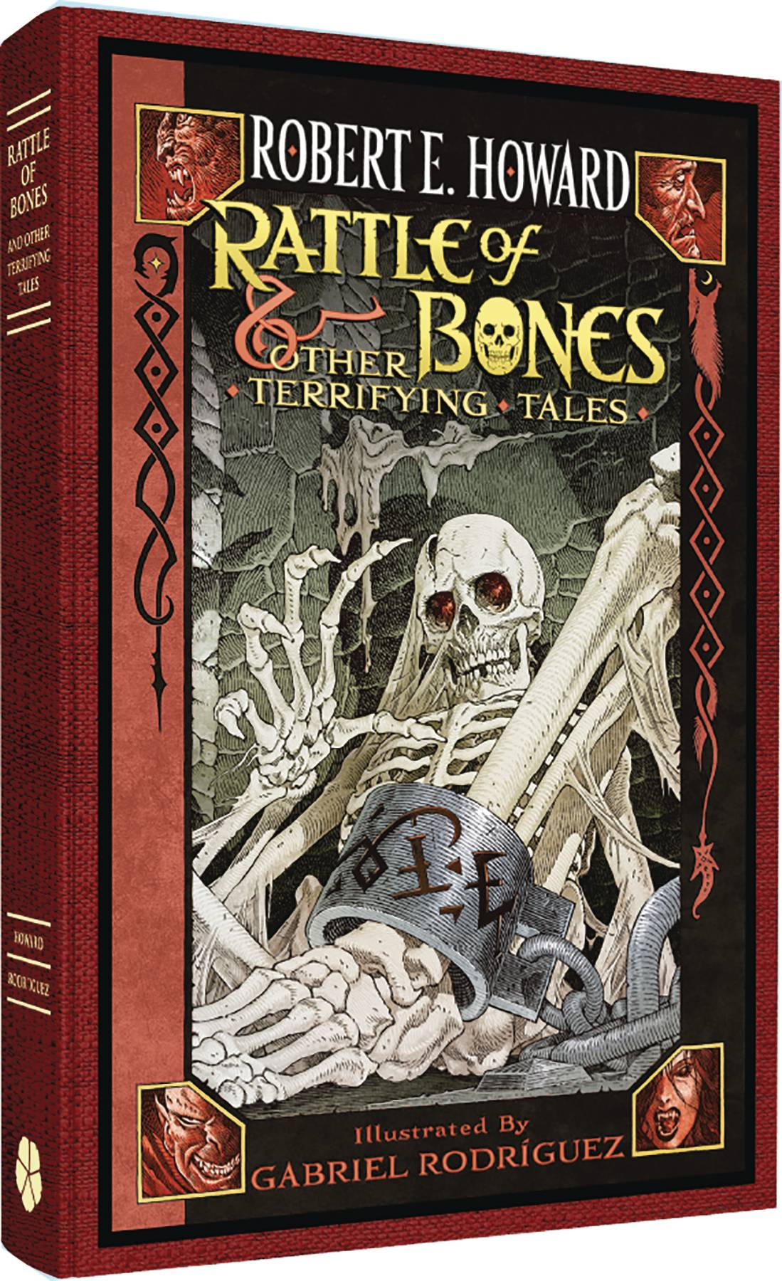 ROBERT E HOWARD RATTLE OF BONES HC
