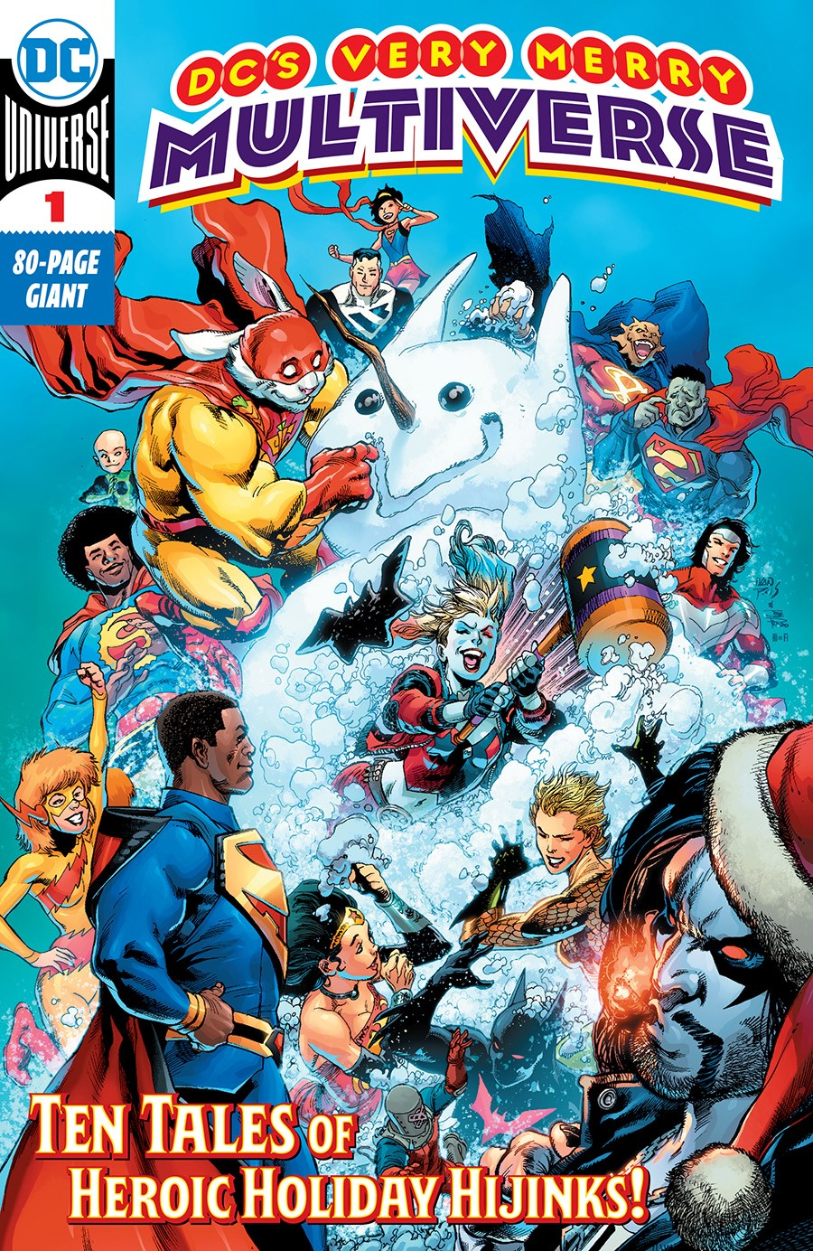 DCS VERY MERRY MULTIVERSE #1 (ONE SHOT)
