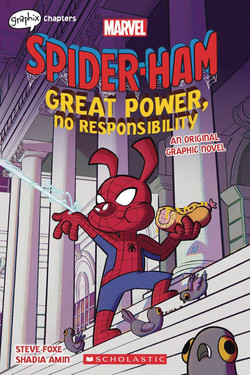 SPIDER HAM GREAT POWER NO RESPONSIBILITY GN