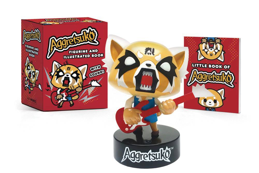 AGGRETSUKO FIGURINE WITH SOUND & BOOK KIT