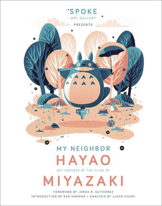 MY NEIGHBOR HAYAO ART INSPIRED BY FILMS OF MIYAZAKI