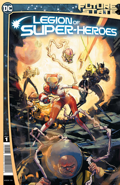 FUTURE STATE LEGION OF SUPER HEROES #1 CVR A