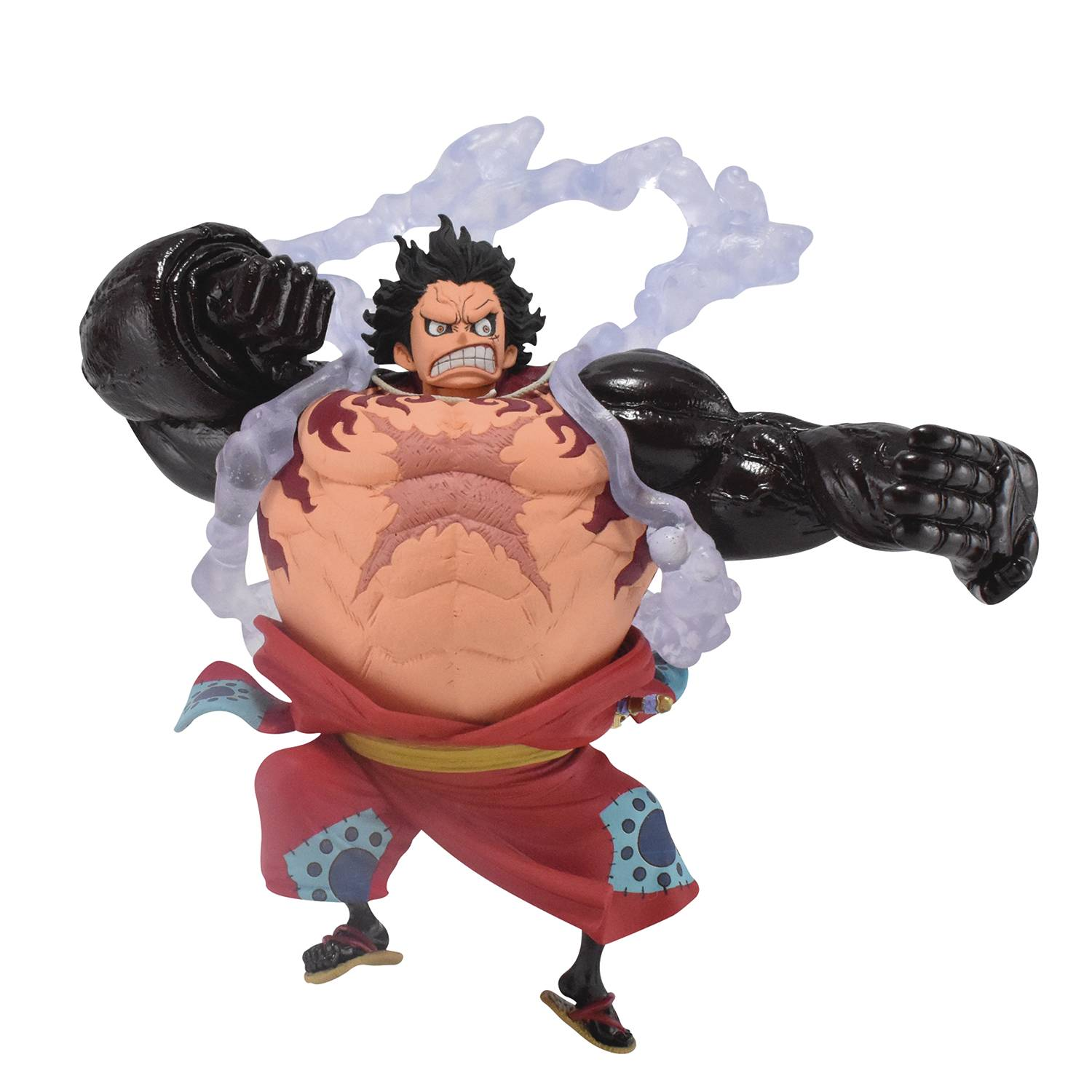 ONE PIECE KING OF ARTIST LUFFY GEAR4 WANO COUNTRY FIG
