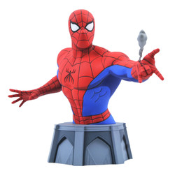 SPIDER MAN THE ANIMATED SERIES BUST