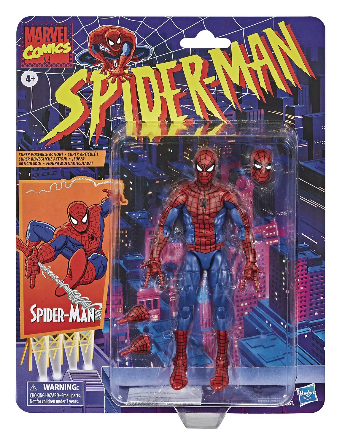 MARVEL LEGENDS SPDIER-MAN TAS SPIDER-MAN AF