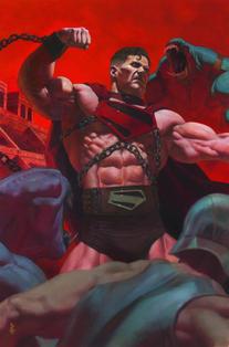 FUTURE STATE SUPERMAN WORLDS AT WAR #1 CVR B