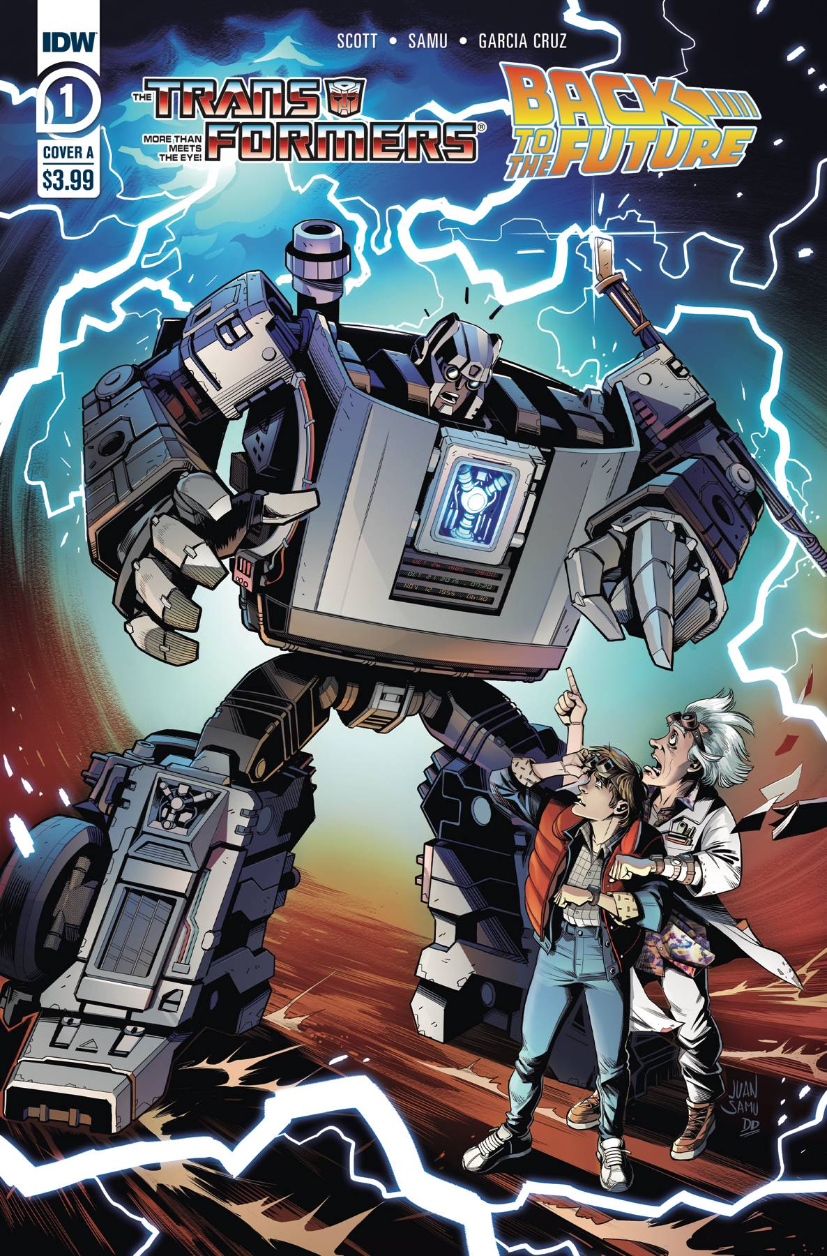 Transformers Back to the Future #1