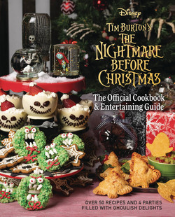 NIGHMARE BEFORE CRHISTMAS COOK BOOK HC