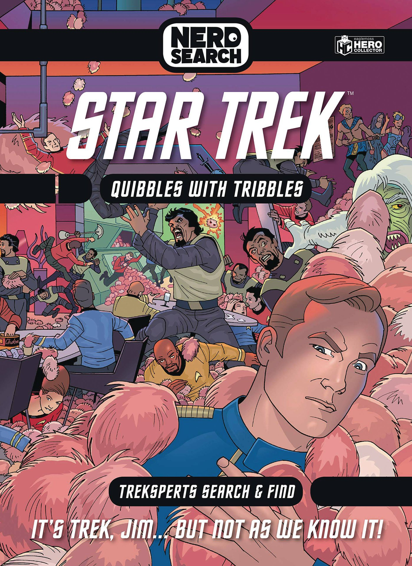 STAR TREK NERD SEARCH HC: QUIBBLES WITH TRIBBLES