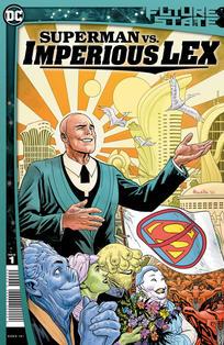 FUTURE STATE SUPERMAN VS IMPERIOUS LEX #1 CVR A
