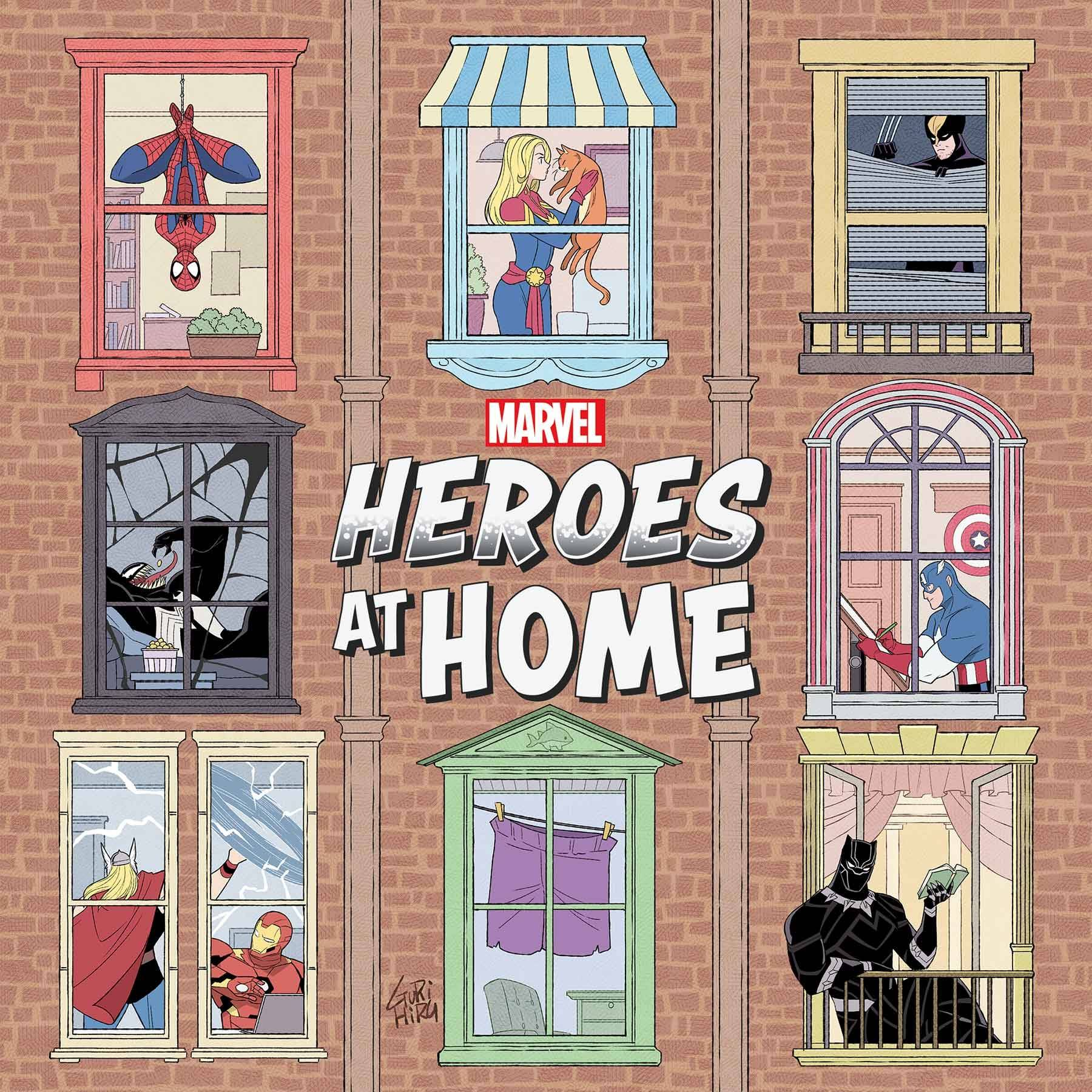 HEROES AT HOME MINI BOOK TP